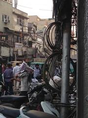Chowry Bazaar, Old Delhi (anuradhadeacon-varma) Tags: streetscene india chowrybazaar olddelhi