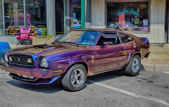 The Purple II (kendoman26) Tags: fordmustangii ford car morrisillinoiscruisenight morriscruisenight morrisjune2018cruisenight nikhdrefexpro2 hdr nikond3300 nikon1855afs3556