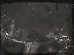 Summer {161/365} (therealjoeo) Tags: summer pool swimming blackandwhite texas bubbles water arms 365 365project