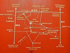Tan Hill Inn Map (amandabhslater) Tags: yorkshire tanhill pub highest 1732ft hill swaledale walls