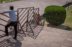 taj2 (Robert Borden) Tags: agra india tajmahal taj street shadow patterns fuji fujifilm fujifilmxt2 50mm 50mmlens travel candid man