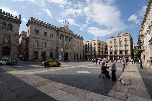 Municipal square, Barcelona