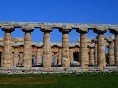 "Doric temple, so called ""Basilica"" at Paestum (half 6th century BC) (Carlo Raso) Tags: dorictemple basilica paestum"