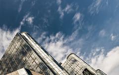 Brussels (drasphotography) Tags: brussels brüssel bruxelles belgium brüssel2018 architecture architektur sky skyscraper gebäude reflection reflektion clouds nuvole wolken looking up modern drasphotography nikon d810 nikkor2470mmf28 deconstruction city cityscape urban