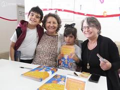 "Visita das autoras Maria Eliza e Nilza Siqueira • <a style=""font-size:0.8em;"" href=""http://www.flickr.com/photos/134435427@N04/41900105164/"" target=""_blank"">View on Flickr</a>"