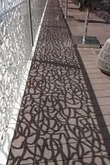 2018-06-FL-190943 (acme london) Tags: 2018 antoniocitterio bulgari dubai handrail hotel hotelresort meraas pattern shading terrace uae