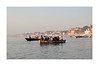 Spiritual Places  India - The Ganges (5) (The Spirit of the World ( On and Off)) Tags: river ganges waterscape boats pilgrims sacred holy reilgious hinduism india varansi asis morning ritual shoreline