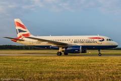 British Airways G-EUPJ (U. Heinze) Tags: aircraft airlines airways flugzeug planespotting plane haj hannoverlangenhagenairporthaj nikon