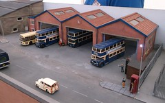 Bus depot (Phil_Parker) Tags: modelrailway train