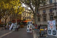 AVIGNON, FRANCE (dionkap) Tags: avignon france canon square painters