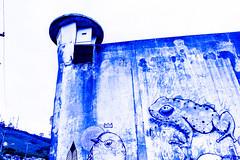 PRESÍDIO CENTRAL (Bernardo.Speck) Tags: muro presídio wall prison blue azul grafite portoalegre central presídiocentral fotografia photography