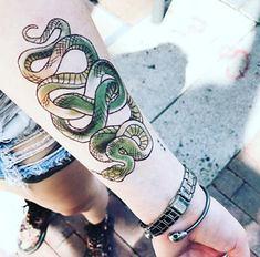 Large Infinity Snake (TattooForAWeek) Tags: large infinity snake tattooforaweek temporary tattoos wicker furniture paradise outdoor