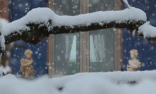 Bataille de flocons de neige