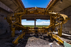 Launch Cradle {Explore - 6/13/18} (Uncharted Sights) Tags: atlas d base missile launch coffin war military nuke nuclear cradle old abandoned forgotten history air force urbex rurex urban rural exploration explore adventure discover canon 80d sigma 1770