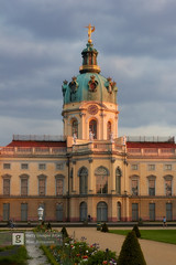 Charlottenburg Palace at sunset. Berlin, Germany (Max Ryazanov) Tags: city travelling travelphoto sigmaphoto canon scenic idyllic world beautiful gettyimages germany berlin cloudscape clouds palace charlottenburg sunset architecture