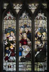 Brandesburton, St Mary's church, window (Jules & Jenny) Tags: brandesburton stmaryschurch stainedglasswindow children jesus