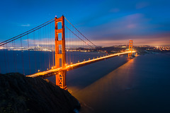 Golden Gate (DannyChee) Tags: millvalley california unitedstates us sausalito golden gate bridge san francisco blue hour long exposure