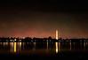 Along the Potomac (Terry Pellmar) Tags: texture digitalart digitalpainting washingtondc river skyline city sky lights reflections night