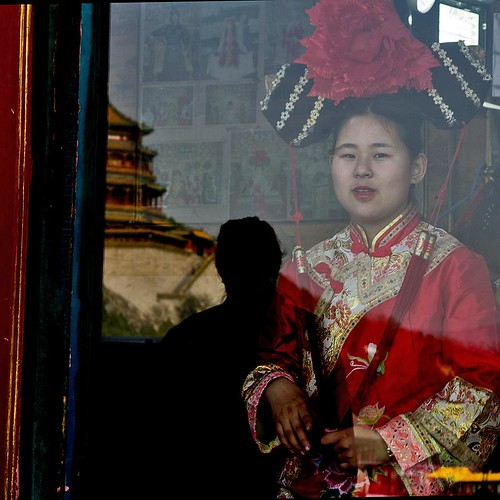 Portrait, Summer Palace, Beijing