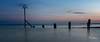 End of the day (Peter H 01) Tags: sunset bluehour eveninglight sea longexposure seascape golden calm beach beacon