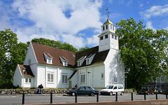 Norway: Egersund church (Henk Binnendijk) Tags: norway noorwegen norge scandinavia scandinavië egersund rogaland church kirche église kerk