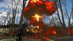Fallout4 - King Kontant's barrel bomb (tend2it) Tags: fallout4 fallout 4 rpg game pc ps4 xbox screenshot screenarchery reshade postprocessing injector nuclear apocalyptic future eraser enb sweetfx goritant attack ms abominations mod