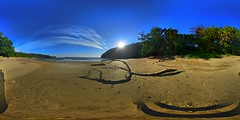 Beatiful Sunset 🌄🌊 (fajar_djoekerz1) Tags: beach sunset beautiful indonesia eastjava jember jakarta world cameraphone 360°view