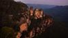 Blue Mountains (Miradortigre) Tags: australia bluemountains sandstone ridge landscape paisaje sunset atardecer