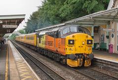 Colas Rail Freight Class 37 37099 'Merl Evans 1947-2016' (Barry Duffin) Tags: train railway testtrain networkrail colas class37 37099 beeston nottingham nevillehill derbyrtc 1q86 35mm