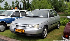 Lada 112 2003 (XBXG) Tags: 72lrgk lada 112 2003 lada112 ladavaz avtovaz автоваз ваз во́лжский автомоби́льный заво́д vaz2112 vaz 2112 youngtimer evenement classicpark cp boxtel noord brabant nederland holland netherlands paysbas old russian car auto automobile voiture ancienne russe vehicle outdoor russia russie россия лaдa