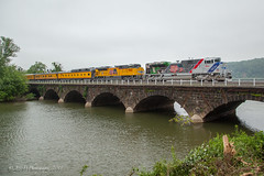 UP EMD SD70AH #1943 @ Duncannon, PA (Darryl Rule's Photography) Tags: 1943 2018 amtrak clouds cloudy diesel diesels emd freight freightcar freighttrain freighttrains ge helpers may middledivision mixedfreight ns norfolksouthern ocs passenger passengertrain railroad railroads sd70ace spiritoftheunionpacific spring train trains up unionpacific westslope