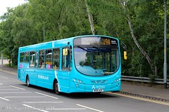 Arriva North West MX61AUH (Mike McNiven) Tags: arriva northwest wright pulsar2 sale sainsburys supermarket wythenshawe interchange m56 motorway hollyhedgeroad bridge bus transport manchester greatermanchester tfgm transportforgreatermanchester