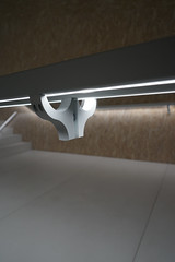 2018-05-FL-187837 (acme london) Tags: aluminiumcladding architecture fondazioneprada gallery glass handraillighting italy milan milano museum oma ply plywood remkoolhaas staircase steps torre whiteconcrete