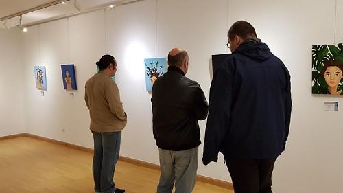 "Exposición de Lourdes R. Zapatero en la Casa de Cultura/PV • <a style=""font-size:0.8em;"" href=""http://www.flickr.com/photos/85451274@N03/42530290801/"" target=""_blank"">View on Flickr</a>"