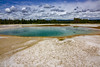 Turquoise Pool (mariola aga) Tags: yellowstonenationalpark wyoming midwaygeyserbasin turquoisepool hotspring pool water turquoise color landscape nature wideangle coth coth5 thegalaxy
