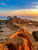 Broken Hill (Manuela Durson) Tags: brokenhill sandiego torrey pines state park reserve cliff cliffs red rock ocean california southerncalifornia pacific scenic landscape sunset warm nature nopeople sandstone sand stone formation iphone absolutelystunningscapes