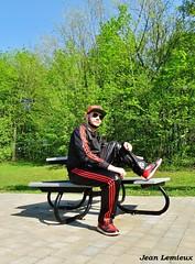 Adidas Chile 62 Tracksuit (JeanLemieux91) Tags: adidas chile 62 tracksuit dc casquette cap gorra red rojo rouge black noir preto negro rayban aviateur aviator nike dunk high sneakers chaussures shoes souliers zapatos polyester shiny lisse brillant reluciente shine parc parque park printemps spring primavera may mayo mai montréal québec canada pierrefonds roxboro—pierrefonds aragon