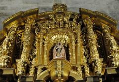 Astorga (León-España). Catedral. Capilla de San Miguel. Retablo rococó, mediados siglo XVIII. Detalle (santi abella) Tags: astorga león castillayleón españa catedraldeastorga retablos