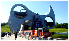 The Falkirk Wheel. (Paris-Roubaix) Tags: falkirk wheel forth clyde canal union stirlingshire scottish lowland canals boat trips