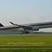 Singapore Airlines 9V-SMN Airbus A350-941 cn/107 @ Buitenveldertbaan EHAM / AMS 11-09-2017