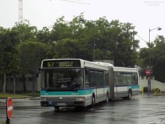 Renault Agora L €2 n°314 (ChristopherSNCF56) Tags: keolis rennes bus agora renault l transport urbains articulé autobus ligne 57 star