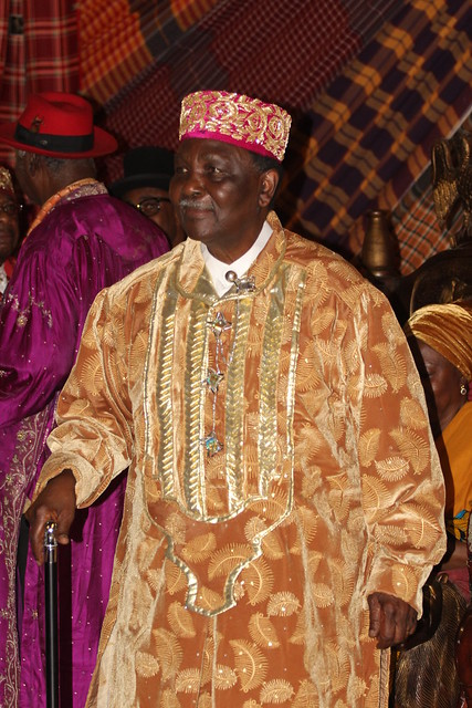General Gowon at the Traditional Rulers Council
