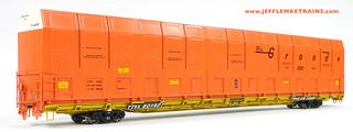 OMI 3010 D&RGW Vert-A-Pak Auto Carrier HO Scale