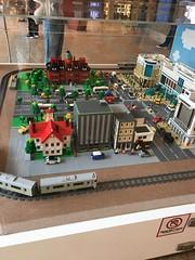 Lego-Sapporo (sjrankin) Tags: 7june2018 edited picturebynaomi lego legosapporo display art jrsapporostation figures sapporo hokkaido japan