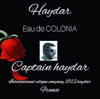 #captainhaydar #colonia #cologne #parishaydar #parfum #kinghaydar #france