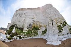 DSC_4884 (Thomas Cogley) Tags: botany bay seaside sea front seafront beach cliff chalk fisheye lens nikon 105mm shore formation