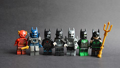 Dark Nights: Metal (th_squirrel) Tags: lego dc comics dark nights metal batman flash wonder woman cyborg joker doomsday green lantern mera aquaman red death merciless murder machine batmanwholaughs laughs devastator dawnbreaker drowned minifig minifigs minifigures minifigure