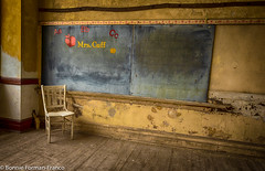 20180523_MRS. CUFF'S CLASS TIME OUT CHAIR & COOPER SCHOOL_BFF_8488_HDR (Bonnie Forman-Franco) Tags: abandoned abandonedphotography abandonedschool abandonedphoto abandonedphotos abandonedclassroom jwcooperschool chair blackboard hdr nikon nikonphotography classroom photographybywomen photoladybon bonnie photography photos photosofabandoned nikond750 nikkkor2470