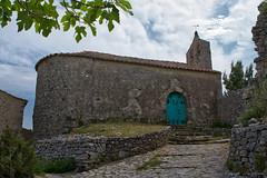 Chapelle de Périllos_5356 (lucbarre) Tags: pyrénées orientales opoul périllos village abandonné église omte ramon de association terre pierres