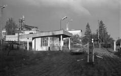 Abandoned filling station in Sobota (Mikołaj Berliński) Tags: sobota stacja benzynowa tankstelle gas station taunus